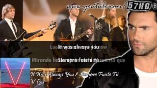 Maroon 5 - It Was Always You HD Subtitulado Español English Lyrics