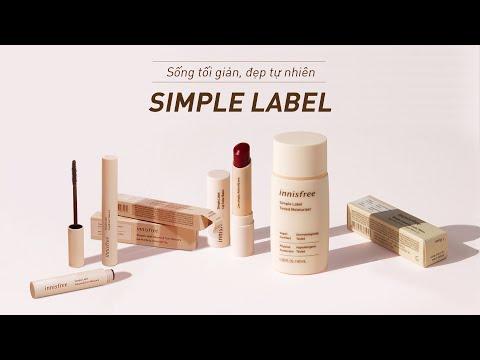 Dòng trang điểm thuần chay Simple Label | innisfree Việt Nam
