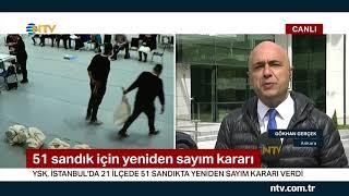 Büyükçekmece'de Son Durum (İstanbul'da Seçim Sonuçlarına Itirazların Ardından Gözler YSK'da)