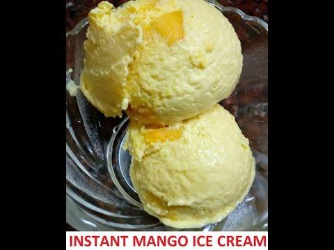 Video Home made mango ice cream (malayalam)
