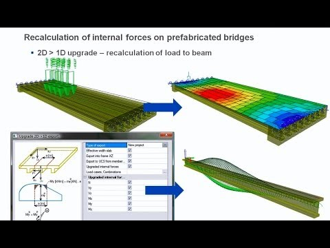 Bridge design with SCIA Engineer