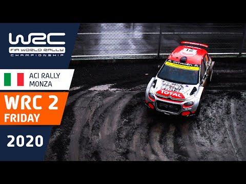 WRC2 第7戦ラリー・モンツァ 金曜日のハイライト動画