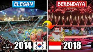 BIKIN MERINDING!!! Perbedaan Upacara Pembukaan Asian Games Indonesia 2018 Dibandingka Korea 2014