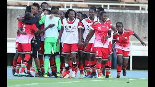 Harambee Starlets jet back into the Country