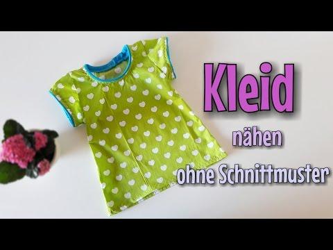 Sommer Kleid - Nähanleitung - OHNE Schnittmuster - Nähtinchen