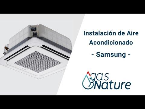 Gasnature Bizkaia Instalación de Aire Acondicionado Samsung