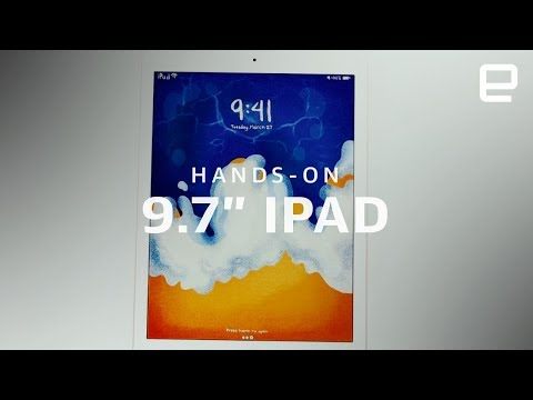 iPad 9.7-inch 2018 hands-on LIVE