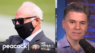 Is Jeffrey Lurie's presence a problem for Eagles in draft? | Pro Football Talk | NBC Sports