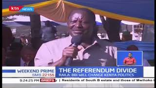 Raila Odinga, William Ruto in a bitter exchange of words