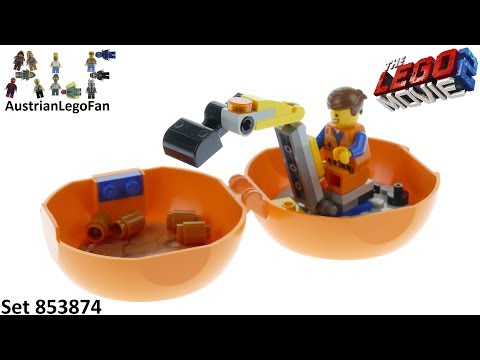 Vidéo LEGO The LEGO Movie 853874 : La capsule de construction d'Emmet