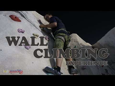 Wall climbing experience at Doha, Qatar | Buhay OFW