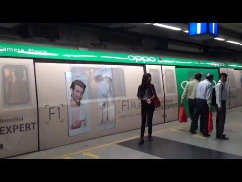 OPPO goes mobile through metro wraps