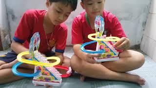 Trò Chơi Bé Pin Tháp Trượt ❤ ChiChi ToysReview TV ❤ Đồ Chơi Trẻ Em Baby Doli Fun Song