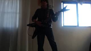 ANGELES DEL INFIERNO no juegues con fuego cover guitar