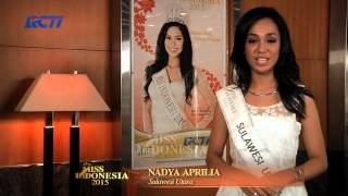 Nadya Aprilia Syaidin for Miss Indonesia 2015
