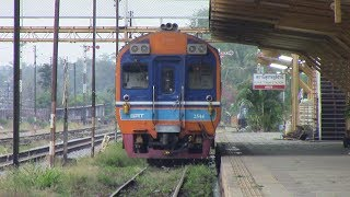 preview picture of video 'SRT Southern Line Special Exp 43 Bangkok - Surat Thani Daewoo DMU Thailand  ทางรถไฟสายใต้'