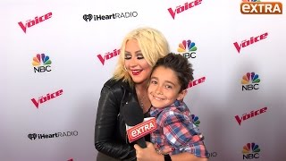 Our 10-Year-Old Correspondent Hangs with 'The Voice' Coaches
