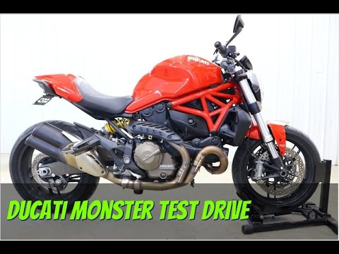 2015 Ducati Monster 821 at Shreveport Cycles