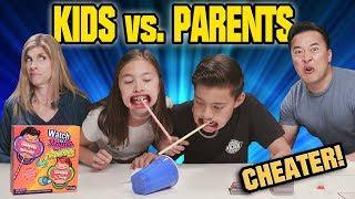 KIDS VS. PARENTS CHALLENGE!!! Watch Ya