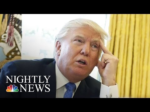President Trump Backs Down From Border Wall Funding Requirement | NBC Nightly News