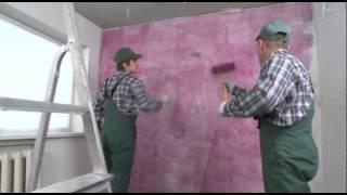 Применение влагостойких ДСП QuickDeck в качестве основы под декоративную отделку стен