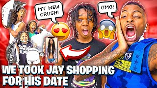 WE WENT SHOPPING FOR JAY DATE & DEDE GOT A NEW CRUSH!