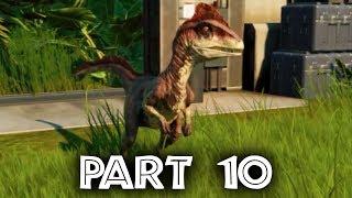 Jurassic World Evolution Gameplay Walkthrough Part 10 - SECURITY MISSION #3 & DEINONYCHUS