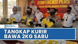 Polisi Tangkap Dua Kurir Narkoba di Jakarta Barat, Sembunyikan Barang di Dalam Tas Kain