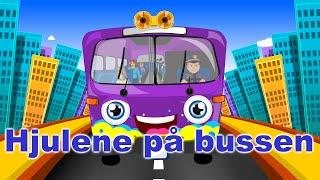 Hjulene på bussen med mer