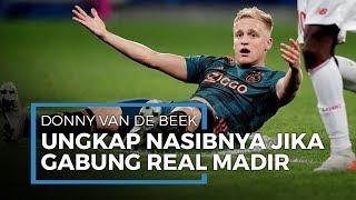 Belum Dapat Kepastian, Donny Van De Beek Tegaskan Belum Pasti Bisa Berseragam Real Madrid