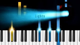 BTS   'Lights'   Piano Tutorial  Piano Cover