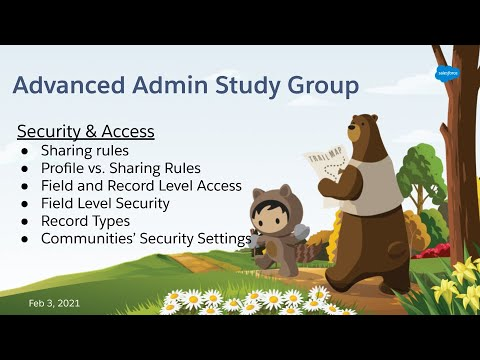 Salesforce Advanced Admin Study Group - Security & Access - part ...