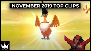 November's Top Twitch Clips