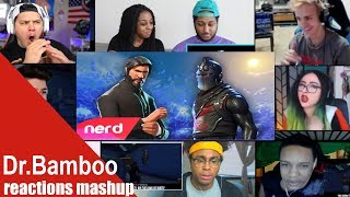 The Fortnite Rap Battle | #NerdOut ft Ninja,CDNThe3rd,Dakotaz,H2O Delirious & More REACTIONS MASHUP