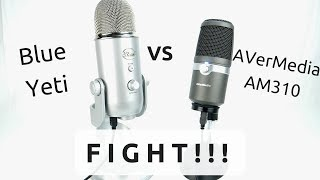 Blue Yeti kontro AverMedia AM310 - mikrofony dla streamerów