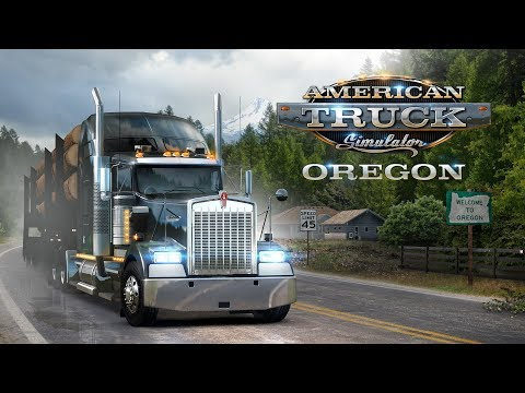 American Truck Simulator - Oregon launch trailer thumbnail