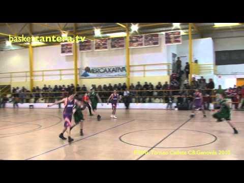 Cadete 2010: VALENCIA vs JOVENTUT.- FINAL Torneo CB.Genovés (generación 94)