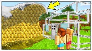 ONDA GIGANTE DI LUCKY BLOCK CONTRO BASE INVISIBILE! - Minecraft ITA