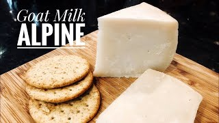 Alpine Cheese From Goat Milk- Cheesemaking At Home