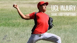 UCL injury of the elbow: Signs, symptoms and mechanism of injury
