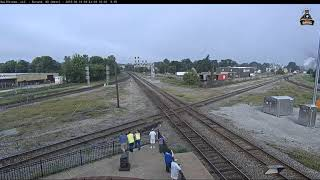 *RARE* PERE MARQUETTE 1225 VISITS THE DURAND RAILCAM FOR THE FIRST TIME