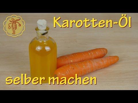 Karotten-Öl selber machen - zur Anti-Aging Hautpflege und leichten Tönung der Haut