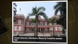 preview picture of video 'Day Trip to Macau Tyga's photos around Macau, China (macau grand prix and wine museum)'