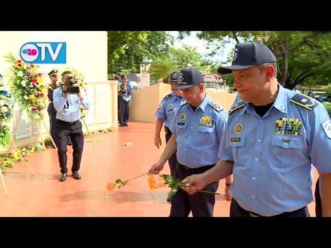 Policía Nacional celebra 40 años de constitución
