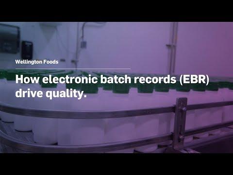 Wellington Foods: How Electronic Batch Records (EBR) Drive Quality