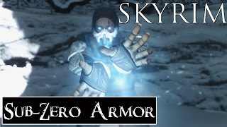 Skyrim Mods: The Cryomancer - Mortal Kombat Sub-Zero Armor