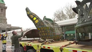 Warp-Speed Construction: Moving the Statue of Liberty's Torch