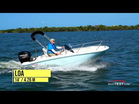 Boston Whaler 130 Super Sport video