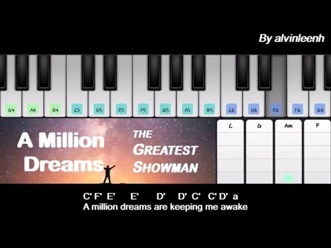 A Million Dreams【2 Minutes Piano】《The Greatest Showman