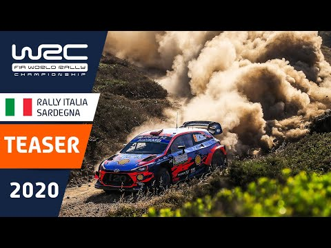 WRC ラリー・イタリア・サルディニア 開催直前のティザー映像